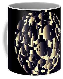 Coffee Mug featuring the digital art Depth Of Thought by Susan Maxwell Schmidt