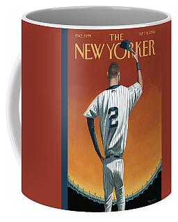 Derek Jeter Bows Out Coffee Mug