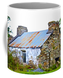 Derelict Coffee Mug by Charlie Brock