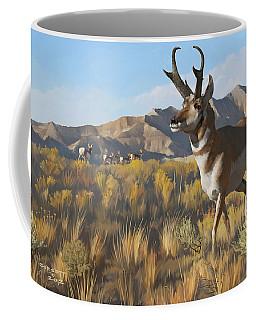 Desert Buck Coffee Mug