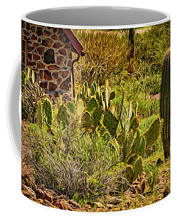 Coffee Mug featuring the photograph Desert Dream by Mark Myhaver