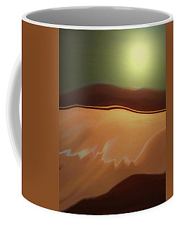 Coffee Mug featuring the photograph Desert Heat II by Jennifer Muller