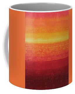 Desert Horizon Original Painting Coffee Mug