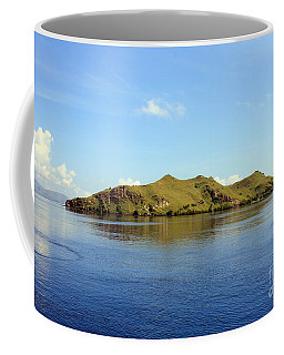 Coffee Mug featuring the photograph Desert Island by Sergey Lukashin
