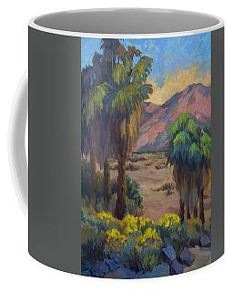 Desert Marigolds At Andreas Canyon Coffee Mug