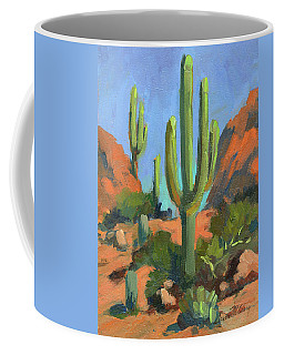 Desert Morning Saguaro Coffee Mug