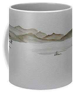 Desert Oasis Coffee Mug by Christine Lathrop