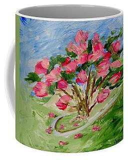 Desert Rose Abstract Coffee Mug by Jamie Frier