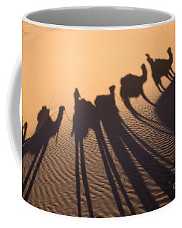 Desert Shadows Coffee Mug