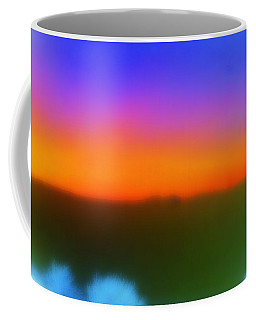 Coffee Mug featuring the photograph Desert Sun Abstract by Deborah  Crew-Johnson