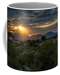 Coffee Mug featuring the photograph Desert Sunset by Dan McManus