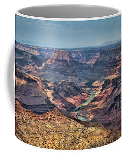 Coffee Mug featuring the photograph Desert View by Jemmy Archer