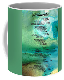 Desiderata 2 - Words Of Wisdom Coffee Mug