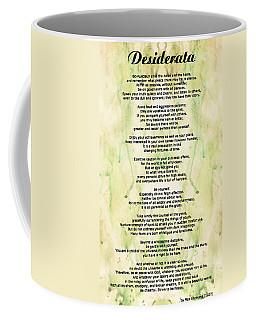 Desiderata 5 - Words Of Wisdom Coffee Mug