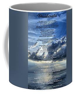Desiderata 7 - Inspirational Art By Sharon Cummings Coffee Mug