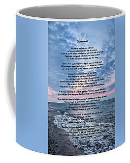 Desiderata Wisdom Coffee Mug