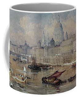 Design For The Thames Embankment Coffee Mug