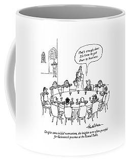 Despite Some Initial Reservations Coffee Mug