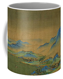 Detail Of A Thousand Li Of River Coffee Mug by Celestial Images