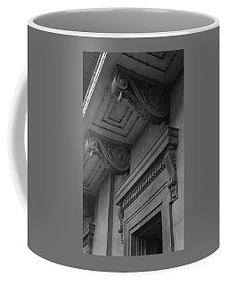 Detail Of Exterior Molding At A Plantation Home Coffee Mug