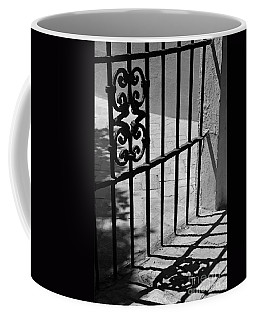 Detail Of Gate In Seville Coffee Mug by Cendrine Marrouat