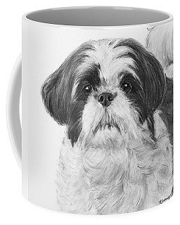 Detailed Shih Tzu Portrait Coffee Mug