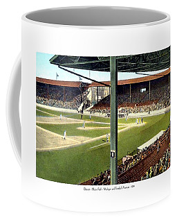 Detroit - Navin Field - Detroit Tigers - Michigan And Trumbull Avenues - 1914 Coffee Mug