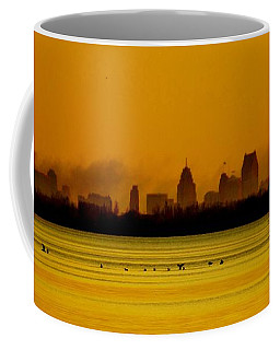 Detroit At Dawn Coffee Mug