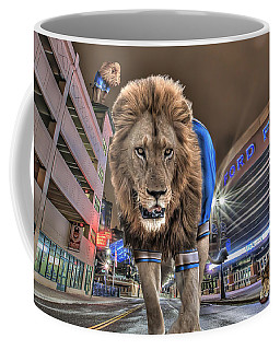 Detroit Lions At Ford Field Coffee Mug