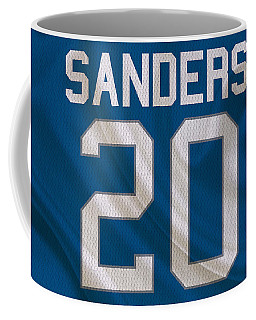 Detroit Lions Barry Sanders Coffee Mug