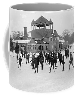 Detroit Michigan Skating At Belle Isle Coffee Mug