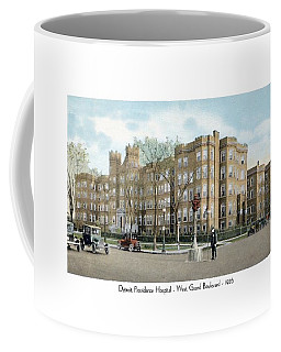 Detroit - Providence Hospital - West Grand Boulevard - 1926 Coffee Mug