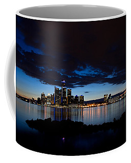 Detroit Twilight Coffee Mug