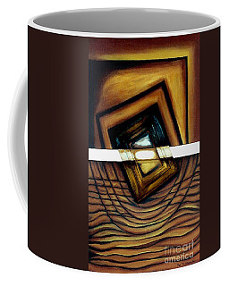 Coffee Mug featuring the painting Deversity View by Fei A