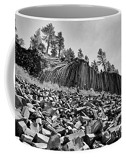 Devils Postpile National Monument Coffee Mug by Terry Garvin