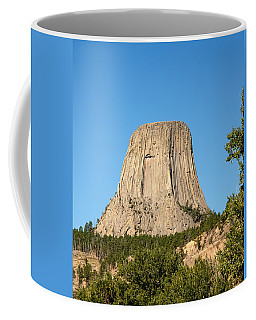 Coffee Mug featuring the photograph Devils Tower by John M Bailey