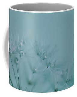 Dew Drops On Dandelion Seeds Coffee Mug