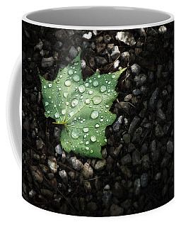 Dew On Leaf Coffee Mug
