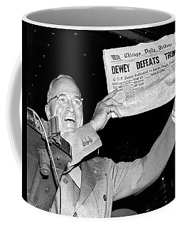 Dewey Defeats Truman Newspaper Coffee Mug