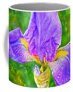 Dewey Iris Coffee Mug