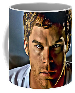 Dexter Portrait Coffee Mug