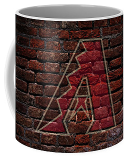 Diamondbacks Baseball Graffiti On Brick  Coffee Mug