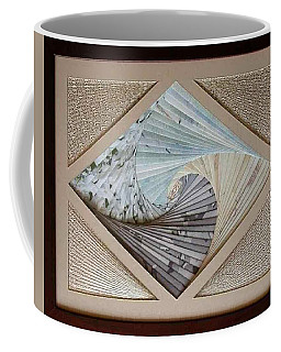 Coffee Mug featuring the mixed media Diamonds Are Forever by Ron Davidson