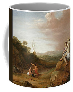 Diana And Her Nymphs With The Discovery Coffee Mug