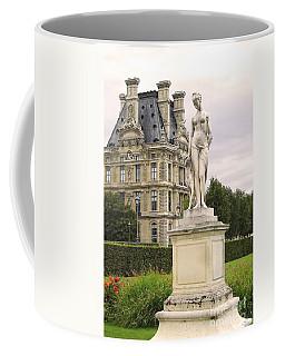 Diana Huntress Tuileries Garden Coffee Mug by Victoria Harrington