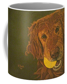 Did Somebody Say Ball? Coffee Mug by Wendy Shoults