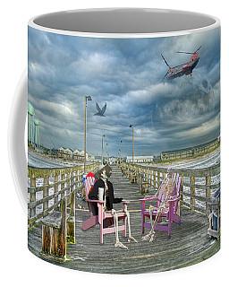 Die Hard Fishermen Coffee Mug