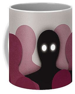 Different And Alone In Crowd Coffee Mug