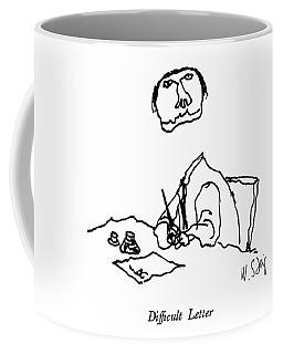 Difficult Letter Coffee Mug
