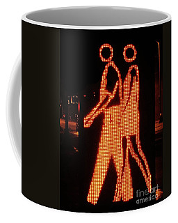 Digital Couple At City Garden Coffee Mug